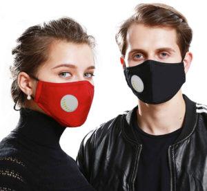 Baumwoll-Schutzmaske mit Filtereinlage